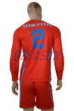디자인 남자의 팀 긴 소매 축구 제복 Goalkeeper 제복 (S030)