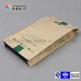 スナックのための4側面のシーリングクラフト紙のプラスチック包装袋