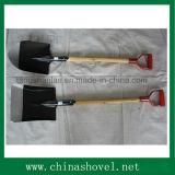 Espada cuadrada de la pala de la pala con la maneta de madera
