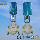 Electric  Actuated  Single  Seat  Control  Valve  with  Globe  유형