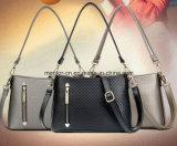 Madame classique Tote Handbag d'unité centrale de plaid de mode de personnalisation