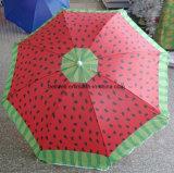 일요일 그늘 보호 우산 뒤집혀진 우산
