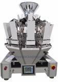 10 pesadores de Multihead das cabeças para a máquina de empacotamento dos doces