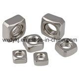 Fournisseur de noix carrées de la vis 304 ASME/ANSI B 18.2.2 d'acier inoxydable de la Chine