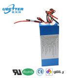 Kundenspezifische 24V 36ah Lithium-Ionenbatterie für E-Roller Fahrrad