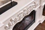 セリウムは承認したホーム家具TVの立場の彫刻の電気暖炉(318S)を