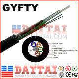 Niet-Mentallic de Centrale Kabel van de Vezel van de Sterkte GYFTY Optische Lucht