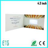 Tarjeta del LCD para hacer publicidad de acontecimiento