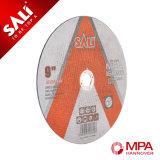 Migliore disco eccellente abrasivo di taglio dell'acciaio inossidabile di qualità