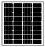18V 60W-70Wのモノラル太陽モジュール(2017年)