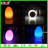 Van de LEIDENE van de Lamp van het Ei van Easte de Veranderende Lamp van de Kleur van de Lamp Verandering van de Kleur