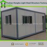 Дом контейнера света панельного дома низкой стоимости стальная