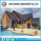 Telhas de telhado de telhado de metal revestido de alumínio e aço de zinco de alumínio