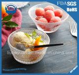 フルーツサラダボールのデザートボール250mlのアイスクリームのガラス・ボール