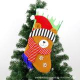 꾸미기를 위한 고품질 크리스마스 사탕 양말