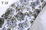 tela del telar jacquar de la tela de tapicería de los muebles y del sofá del sitio del a&B