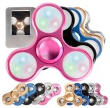 De LEIDENE Lichte Spinner van de Vinger friemelt EDC van het Aluminium de Spinner van de Hand voor de Nadruk van de Hulp van de Spanning van het Autisme en van de Bezorgdheid Adhd