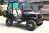 Mini jeep negro, mini ATV eléctrico para los adultos