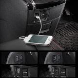 2.1A verdoppeln USB-Portauto-Aufladeeinheit für Toyota Vigo