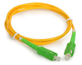 Fibre optique Patchcord de SM Dx de Sc/APC-Sc/RPA 0.9/2.0/3.0mm