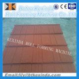Linha de produção revestida de pedra da telha de telhado