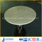 Panneau en aluminium de marbre en pierre léger de nid d'abeilles pour des dessus de table