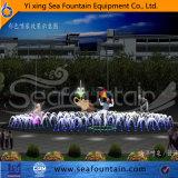 Fontaine en bois de musique de sculpture en module
