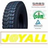 Joyall marca todos los neumáticos radiales de camiones de dirección, TBR neumáticos, neumáticos de camiones (12.00R20, 11.00R20)