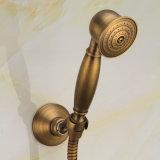 Fixado na parede ajustado do chuveiro da antiguidade de Flg com o misturador da cuba de banho