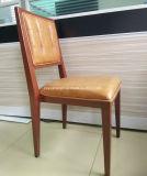 Café amortecido plutônio do restaurante da cozinha do couro que janta as cadeiras (JY-R47)