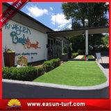 庭のための自然な人工的な草および人工的な草のカーペットの泥炭の草