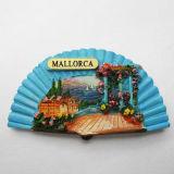 A resina favorita da lembrança Tourist do ímã do refrigerador coleta 3D-Spain Mallorca