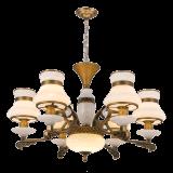 Nuova lampada di illuminazione del lampadario a bracci di disegno 2017 con marmo ed il cristallo (SL2272-6)