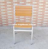 Présidence extérieure en bois en plastique en aluminium de modèle neuf première
