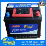 Batterie automatique de camion de véhicule DIN 200 Mf 12V 72ah pour le marché de Dubaï et de l'Afrique