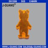 곰 모양 Plastic/PMMA/Acrylic 사려깊은 걸이 단단한 반사체 (JG-T-01)