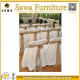 Band-elastische Stuhl-Schärpe mit Faltenbildung für Hochzeit