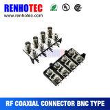 Conector de ángulo recto de BNC al conector del RCA
