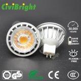 proyector de 3W 5W 7W SMD LED GU10 con Ce