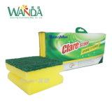 Держите пусковую площадку губки чистки для пусковых площадок губки пользы кухни соскабливая
