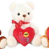 De Pluche van drie Kleuren en de Gevulde Leverancier van de Teddyberen van de Valentijnskaart