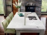 台所カウンタートップのための極度の白20mmの人工的な水晶石