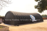 tente gonflable de tunnel de tente gonflable géante d'événement de longueur de 15m pour extérieur