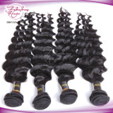 Extensão natural malaia do cabelo de Remy do cabelo da classe cheia da cutícula 8A
