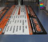 Impressão personalizada ao ar livre que anuncia a bandeira do PVC do vinil (SS-VB7)