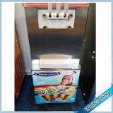 Distributeur automatique mélangé de la crême 2+1 glacée avec 3 robinets