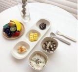 BPA geben das Bambusfaser-Tafelgeschirr-Essgeschirr frei, das eingestellt wird für Kinder (YK-T7013)