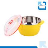 Дешевый шар салата нержавеющей стали и пластмассы с крышкой