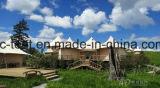 휴일 천막 사는 나무로 되는 조립식 집 사치품 수용량