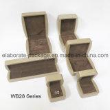 Caso de madera del conjunto del rectángulo de la colección del conjunto de madera duro natural de Jewellry